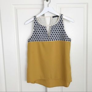 Stitch Fix THML Embroidered Colorblocked Top